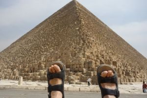 feet, great pyramid