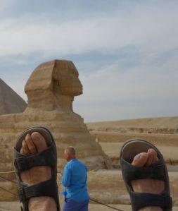 feet sphinx